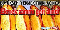EKMEK ZAMMI GERİ ALINDI