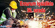 ERZURUM İŞSİZLİK ORANI SIRALAMASINDA 56'INCI SIRADA YER ALDI