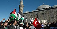 ERZURUM'DA İSRAİL PROTESTOSU