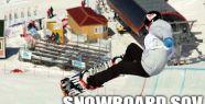 ERZURUM'DA SNOWBOARD ŞOV