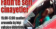 FATİH'TE BİRER SAAT ARAYLA 3 CİNAYET