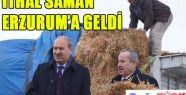 GÜRCİSTAN'DAN İTHAL SAMAN ERZURUM'A GELDİ