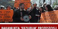 İÇİŞLERİ BAKANLIĞI ÖNÜNDE PROTESTO