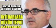 'İNTİHARLARA BÜYÜK TEPKİ GÖSTERİRDİ'
