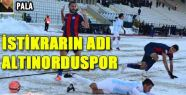 İSTİKRARIN ADI ALTINORDUSPOR
