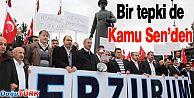 KAMU SEN'DEN BDP MİLLETVEKİLİ TAN'A SERT TEPKİ