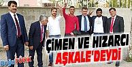 MHP ADAYLARI ÇİMEN VE HIZARCI AŞKALE'DEYDİ