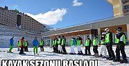 PALANDÖKEN'DE KAYAK SEZONU BAŞLADI