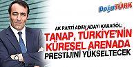PROF. DR. KARAGÖL, TANAP, TÜRKİYE'NİN KÜRESEL ARENADA PRESTİJİNİ YÜKSELTECEK
