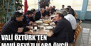 VALİ ÖZTÜRK'TEN BELEDİYESPOR'A TAM DESTEK