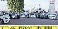 YENİ COROLLA'LAR SAHİPLERİNE TESLİM EDİLDİ