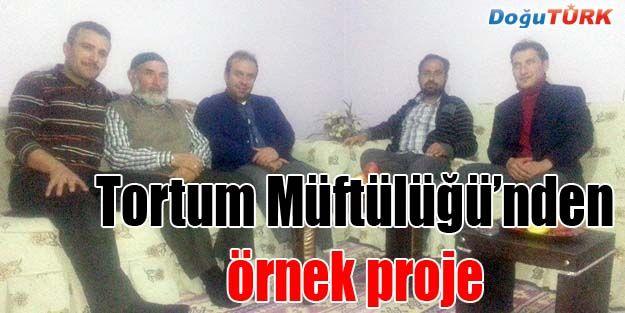 """TORTUM MÜFTÜLÜĞÜ'NDEN """"YOLUMUZU AYDINLATANLAR"""" PROJESİ"""