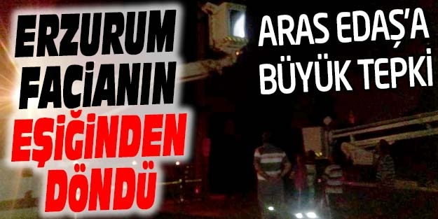 YUNUS EMRE MAHALLESİ'NDEN ARAS EDAŞ'A TEPKİ