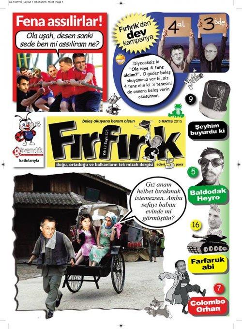 FIRFIRİK -MAYIS