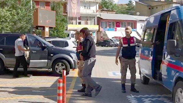 Kablo hırsızı 4 kişi yakalandı