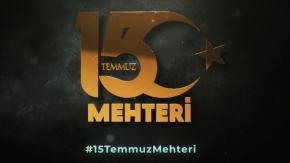 Şehitler anısına '15 Temmuz Mehteri'